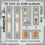 Ar 234B seatbelts STEEL - 1/48