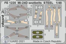 Mi-24D seatbelts STEEL - 1/48