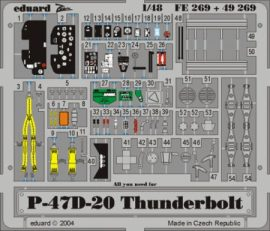 P-47D-20. -1/48 - Hasegawa