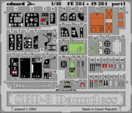 SBD-3 Dauntless - 1/48 - Accurate M.