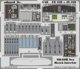SH-60B interior - 1/48 - Hasegawa
