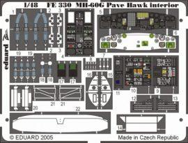MH-60G interior- Italeri