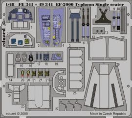 EF-2000 Typhoon Single Seater - 1/48 - Italeri