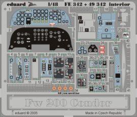 Fw 200 Condor interior - 1/48 - Trumpeter
