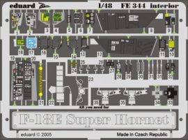 F-18E interior- Revell