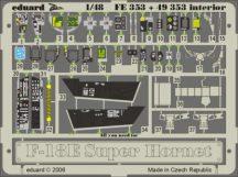 F-18E interior. -Hasegawa