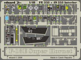 F-18E interior. - 1/48 - Hasegawa