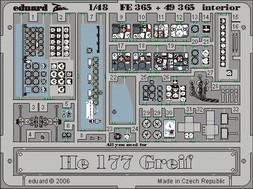 He 177 Greif interior - 1/48 -  MPM