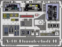 A-10 Thunderbolt interior-Italeri