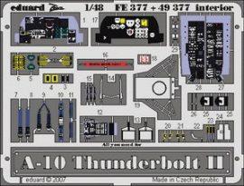 A-10 Thunderbolt interior - 1/48 - Italeri