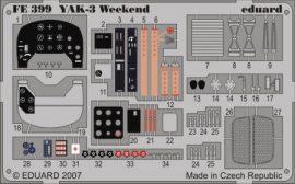 YAK-3 Weekend- Eduard - 1/48