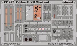 Fokker D.VII Weekend- Eduard