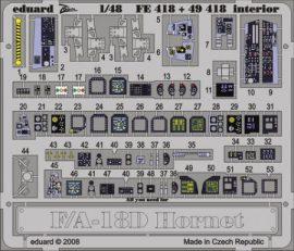 F/A-18D interior S.A. - Hobbyboss