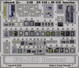 F/A-18D interior S.A. - 1/48 - Hobbyboss