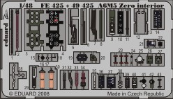 A6M5 Zero interior S.A.- 1/48 - Tamiya