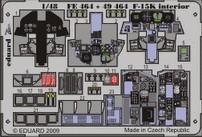 F-15K interior S.A. - 1/48 - Academy