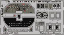 B-24D cockpit interior S.A. - Revell/Monogram