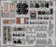 F6F-3 Hellcat  interior S.A. - Hobbyboss