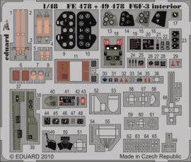 F6F-3 Hellcat  interior S.A. - 1/48 - Hobbyboss