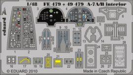 A-7A/B Corsair interior S.A. - Hobbyboss
