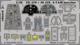 A-7A/B Corsair interior S.A. - Hobbyboss