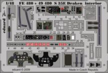 RF-35 Draken interior S.A.- Hasegawa