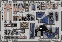 BAC Lightning F.2A interior S.A.- 1/48 - Airfix