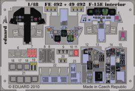 F-15E interior S.A.- 1/48 - Academy