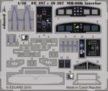 MH-60K interior S.A.- Italeri