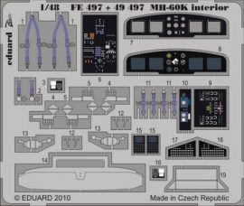 MH-60K interior S.A. - 1/48 -  Italeri