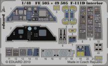 F-111D interior S.A. - Hobbyboss