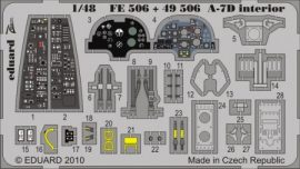 A-7D Corsair II. interior S.A. - Hobbyboss