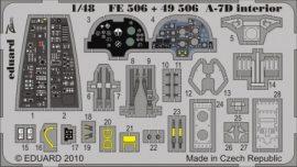 A-7D Corsair II. interior S.A. - 1/48 -  Hobbyboss