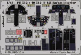 F-15I Ra'aM interior S.A.- 1/48  - Academy