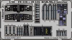 HAR. Mk.3 interior S.A.- 1/48 - Hasegawa