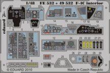F-4C Phantom interior S.A. - Hasegawa