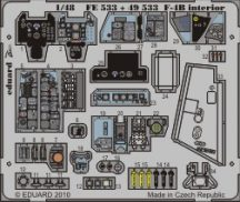 F-4B Phantom interior S.A. - Hasegawa
