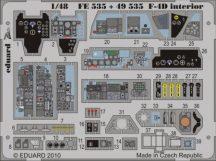 F-4D Phantom interior S.A. -Hasegawa