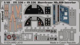 Hurricane Mk.IID interior S.A. - Hasegawa