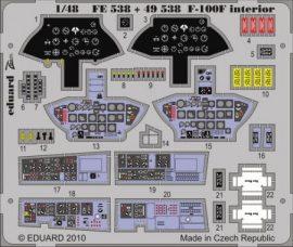 F-100F interior S.A. - Trumpeter