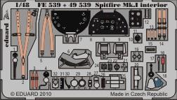 Spitfire Mk.I interior S.A. - 1/48 - Airfix