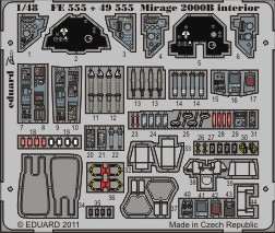 Mirage 2000B interior S.A.- 1/48 - Kinetic