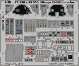 Mirage 2000D interior S.A.- 1/48 - Kinetic