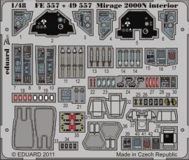 Mirage 2000N interior S.A.- 1/48 - Kinetic