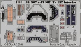 Ta 152 interior S.A. - 1/48 -  Hobbyboss