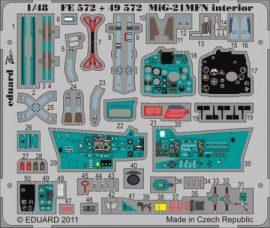 MiG-21MFN interior S.A .-  1/48 - Eduard