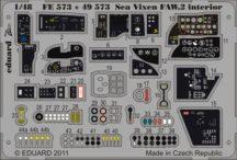 Sea Vixen FAW.2 interior S.A.-Airfix
