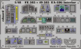 EA-18G interior S.A. -Hasegawa