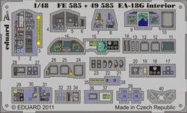 EA-18G interior S.A. - 1/48 - Hasegawa