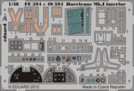 Hurricane Mk.I interior S.A. - 1/48 -  Italeri